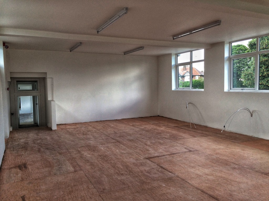Dance Studio One pre-Harlequin floor