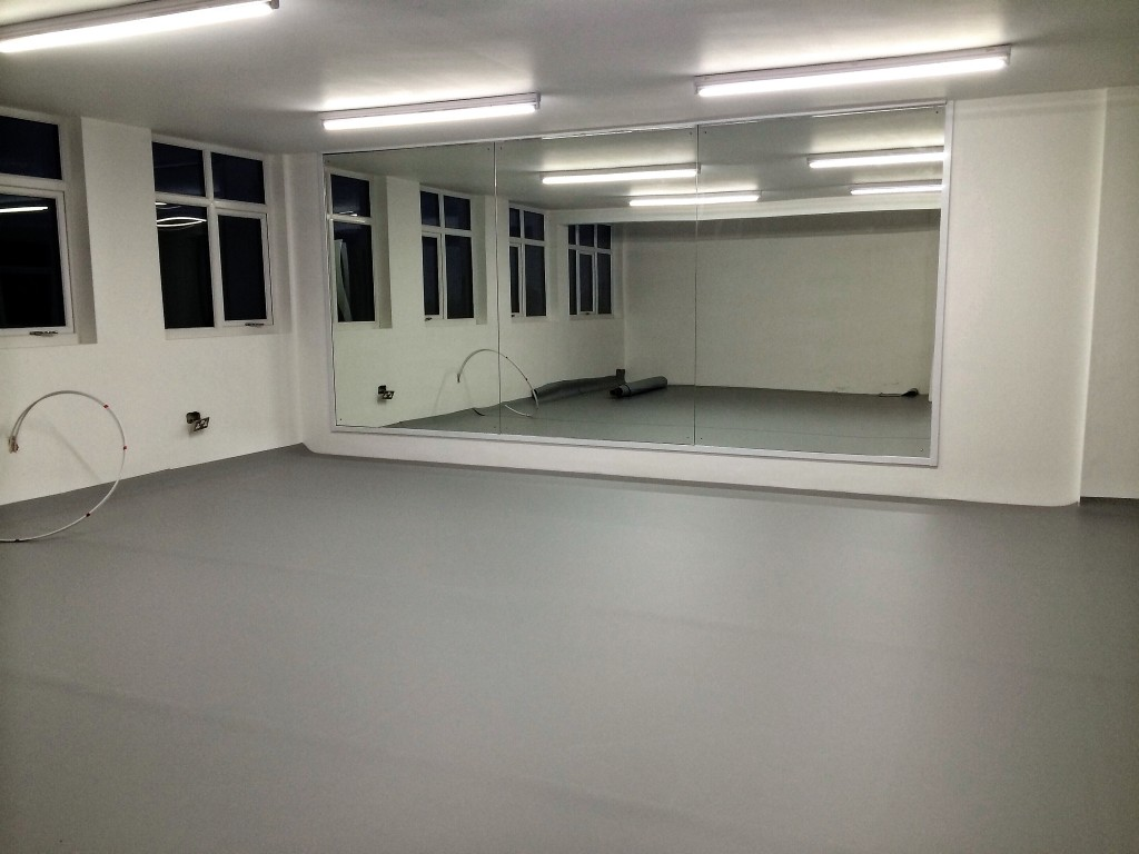 Leeds Dance Studio One with new Harelquin Floor